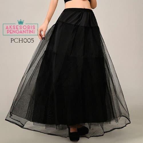 harga Petticoat gaun pengantin l rok pengembang hitam (lolita1ring)- pch 005 Tokopedia.com