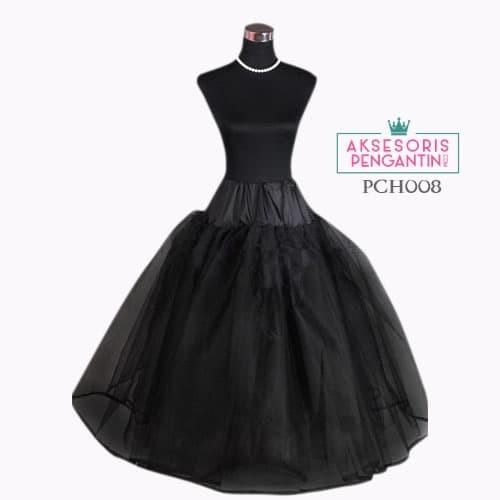 harga Petticoat wedding hitam lolita 4 layerpengembang gaun pengantin pch008 Tokopedia.com
