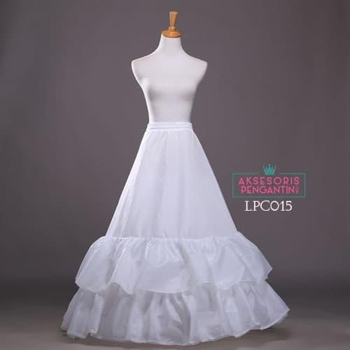 harga Petticoat wedding ball gown - rok pengembang gaun pengantin - lpc 015 Tokopedia.com