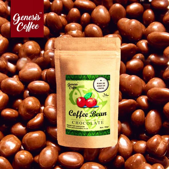 Foto Produk AFRICAN CHOCOLATE - ARABICA COFFEE BEAN / BIJI KOPI DILAPISI COKLAT dari Genesis Coffee