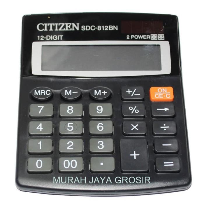 Jual Citizen SDC-812BN Kalkulator penghitung 12 digit 2 power ... e243514eec