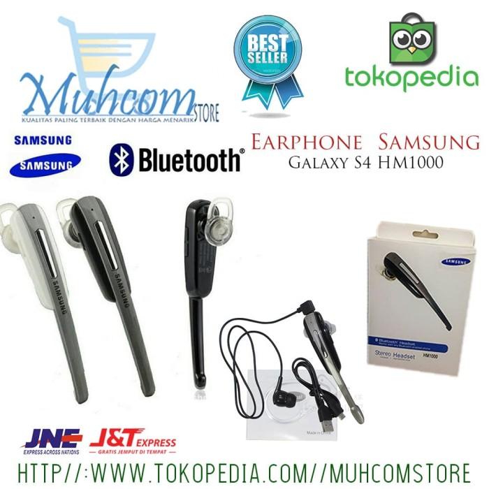 harga Earphone bluetooth headset samsung galaxy s4 hm1000 dual phone murah Tokopedia.com