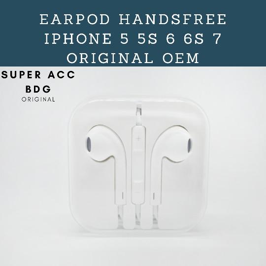 harga Earpod earphone headset iphone 4 5 5s 6 6s original oem Tokopedia.com