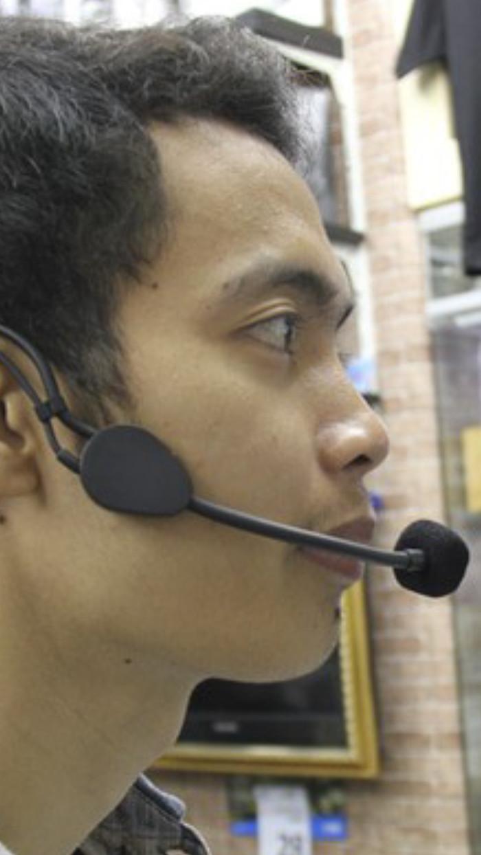 harga Toa microphone headset zm 370 hs original mic mik bando imam vokal aud Tokopedia.com