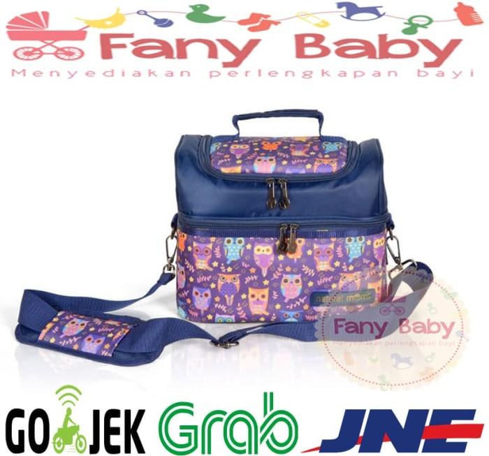 Natural moms cooler bag sling owl / tas asi bayi