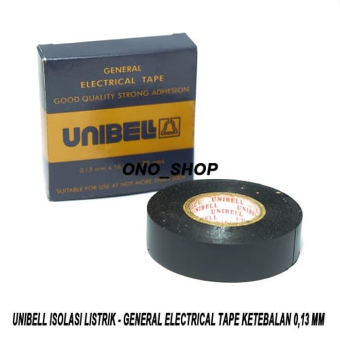 Jual Unibell Isolasi Listrik - General Electrical Tape Ketebalan 0,13 mm -  DKI Jakarta - Yaksa Store | Tokopedia