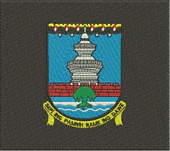 Jual Logo Kabupaten Serang Bordir Komputer Kota Tangerang Asakamarket Tokopedia