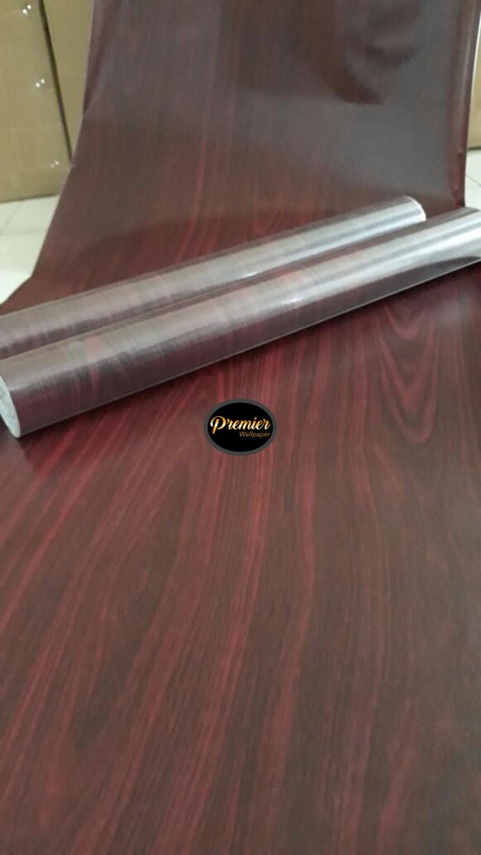 Kayu coklat merah wallpaper | 45cm x 10m