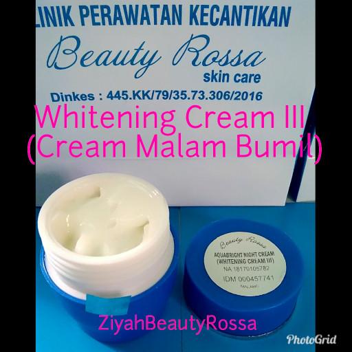 harga Whitening cream iii ( cream malam bumil) beauty rossa Tokopedia.com
