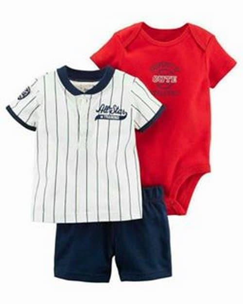 harga Setelan baju anak bayi cowok jumper carter 3in1 br220 import Tokopedia.com