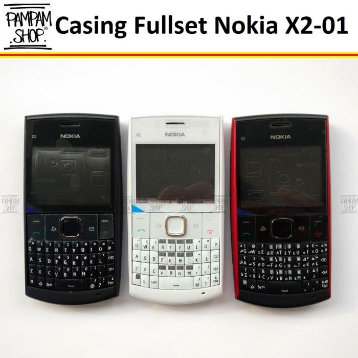 harga Casing / case / kesing fullset / full set nokia x2 01 x2-01 ori china Tokopedia.com