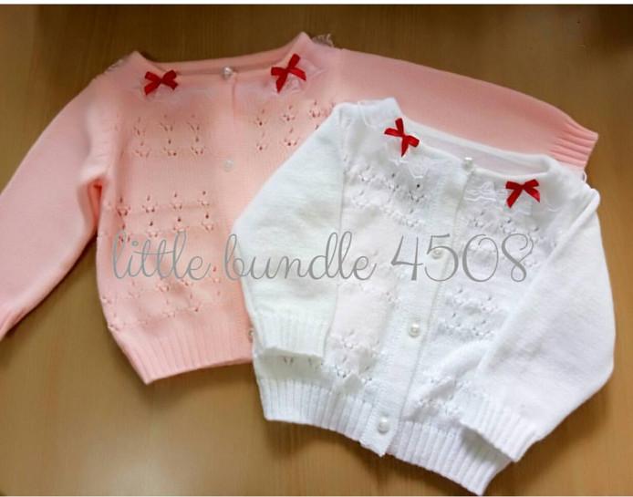 harga Sweater lucu anak bayi cewek pita Tokopedia.com