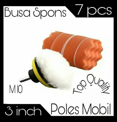 harga Spon busa poles mobil/motor 3 Tokopedia.com