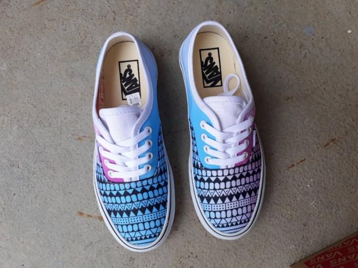 Sepatu vans authentic tribal magenta cygan wafle dt bnib premium 5c4fdc2c1b