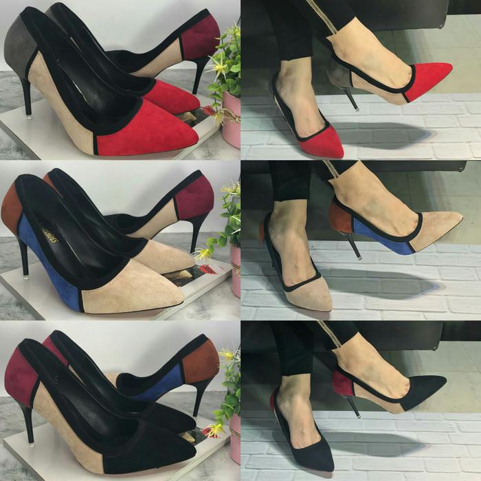 Lynn Phantofel Sepatu Kerja Wanita Ph1ccr Cream - Daftar Harga ... dd367f310a