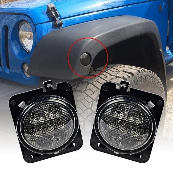 Lampu jeep sein samping led / sen flender flare jeep rubicon