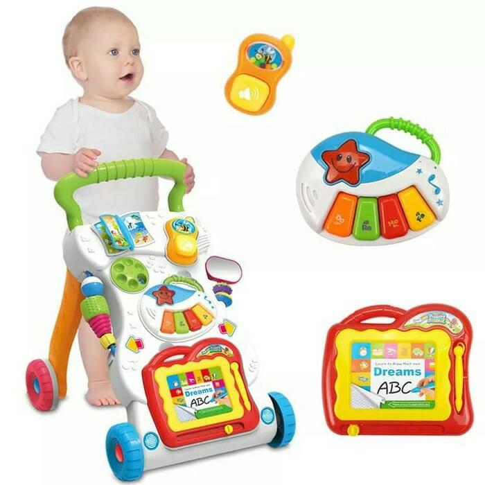 harga Baby walker/baby push walker Tokopedia.com