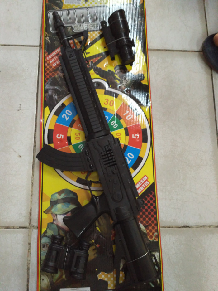 harga Mainan senapan laras panjang Tokopedia.com