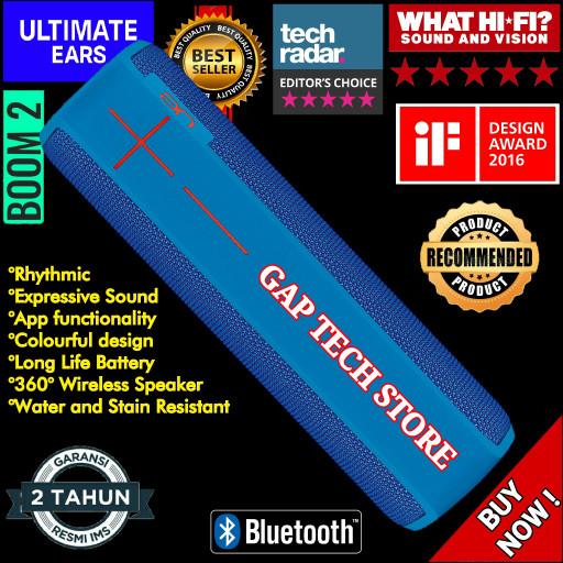 harga Ultimate ears ue boom 2 / boom2 bluetooth portable speaker originals Tokopedia.com