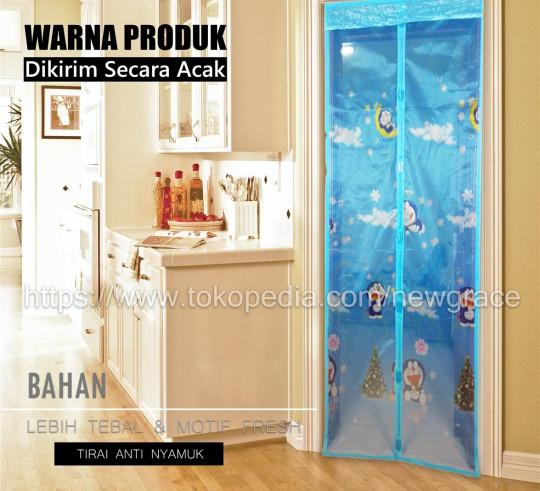 harga Tirai magnet motif anak 90x210 Tokopedia.com