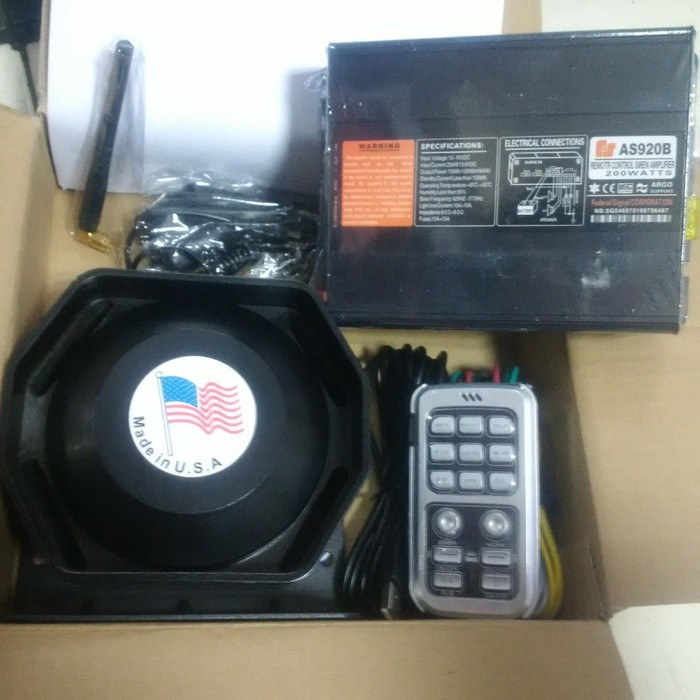 harga Toa sirine patwal 200w polisi tni paspampres 14suara wireless toa horn Tokopedia.com