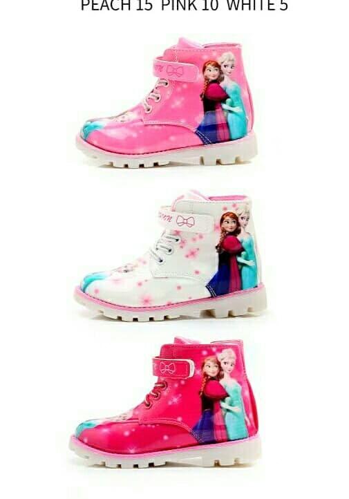 Jual hk blink boots led shoes sepatu lampu anak import pesta frozen ... 8c5a34a9e5