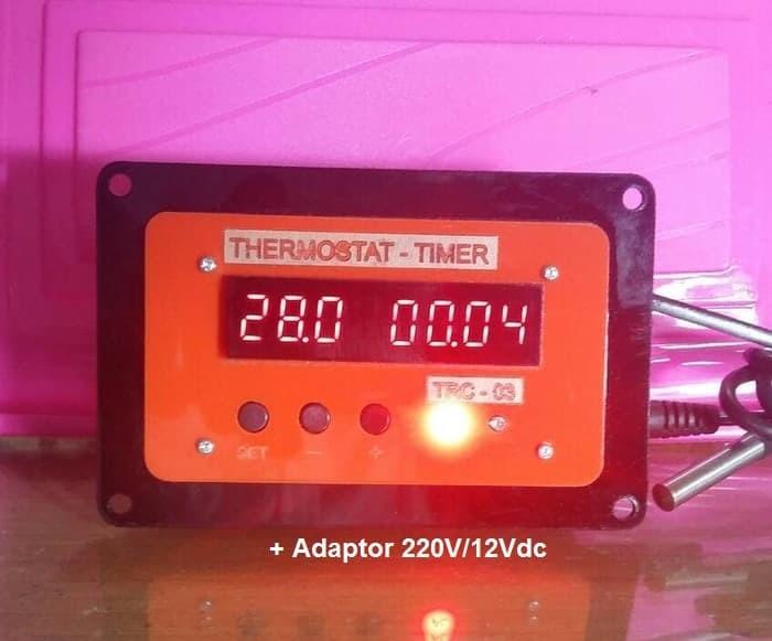 Foto Produk 2 in 1 - Thermostat, Timer, Digital Kontrol Mesin Tetas, Incubator dari Indoriva OnLine