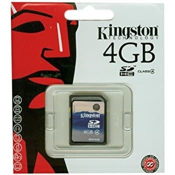 harga Sd card kingston 4 gb class 4 sdhc flash memory card sd4-4gb Tokopedia.com