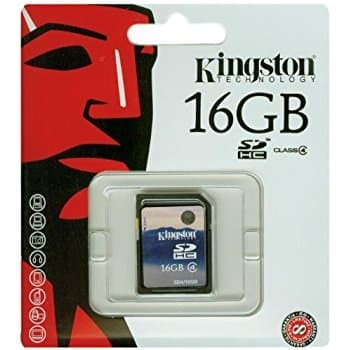 harga Sd card kingston 16gb class 4 sdhc flash memory card sd4-16gb Tokopedia.com