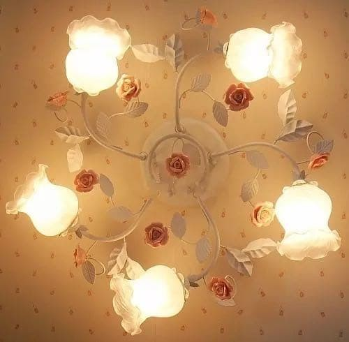 Jual Shabby Chic Ceiling Lamp Po70 Kota Bandung Leatique Decorative Tokopedia