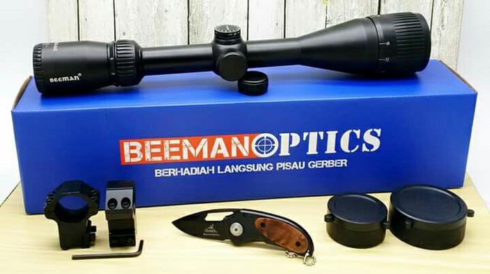 Jual telescope beeman optics ao wa paralax aws lapak