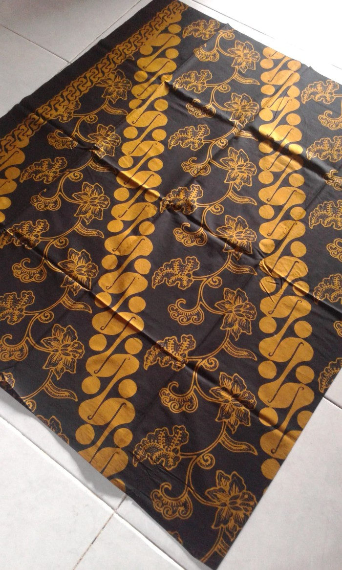 Jual Batik Cap Lasem Motif Parang Seling Bunga Kab Sukoharjo Batik Nuha