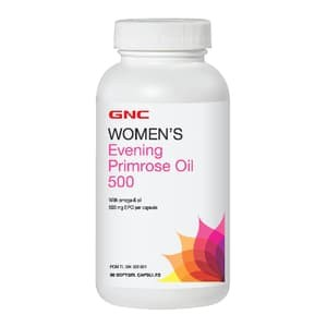 GNC Womens Evening Primrose Oil 500 90 Kapsul Lunak Khusus JNE