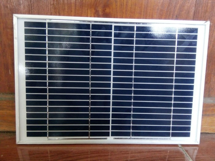 Panel Surya / Solar Panel / Modul Surya / Solar Cell YUNDE 10Wp Poly