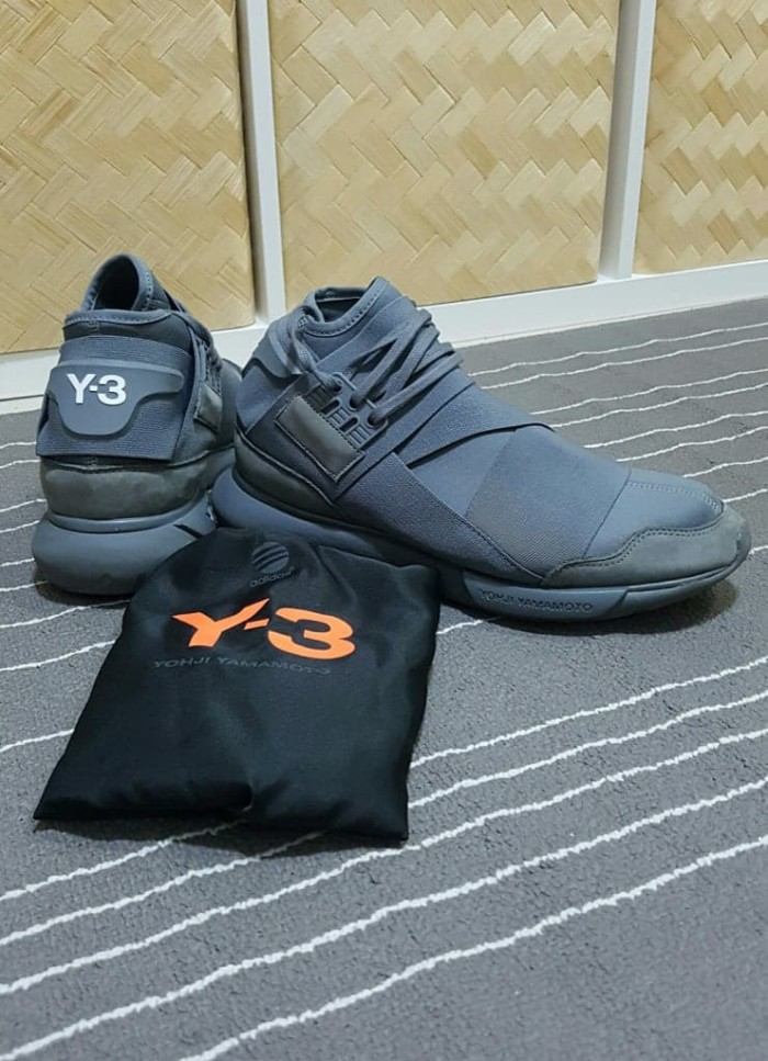 7e323a8a643f4 Adidas Y3 Yohji Yamamoto Casa High Vista Grey Premium Original Sepatu -  Raynstore