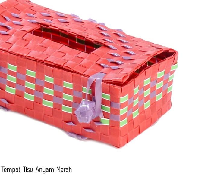 harga Tempat tissue anyam plastik temapt tissue grosir Tokopedia.com