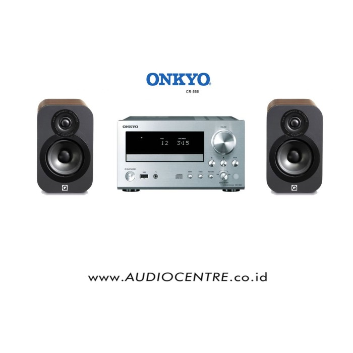 harga Onkyo cr 555 & q acoustics 3010 package / micro hifi Tokopedia.com