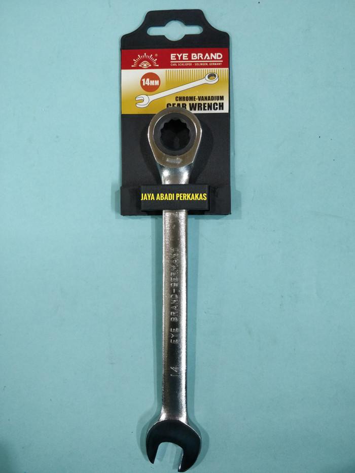Jual Kunci Ring Pas Rachet / Ratchet Gear Spanner 14mm Tjap Mata - Jakarta  Barat - jaya abadi perkakas | Tokopedia