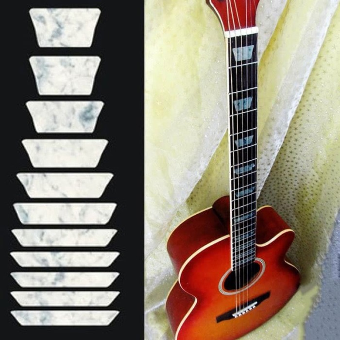 harga Sticker fretboard gitar listrik dan akustik les paul style Tokopedia.com
