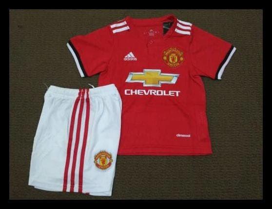 buy online c0e97 14e2b Jual (Produk Baru!!) Jersey Bola Manchester United Mu Home Kids/Anak -  Debra Mode | Tokopedia
