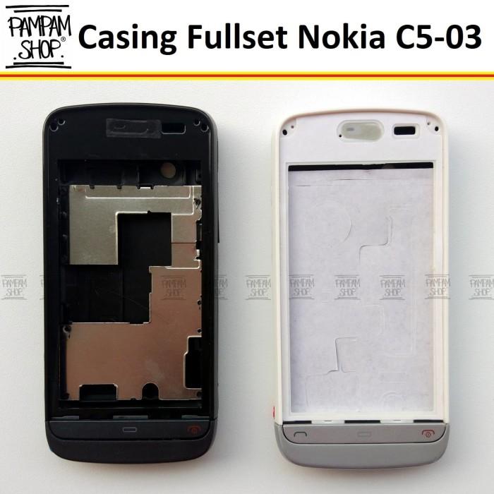 harga Casing / case / kesing fullset / full set nokia c5-03 c5 03 ori china Tokopedia.com