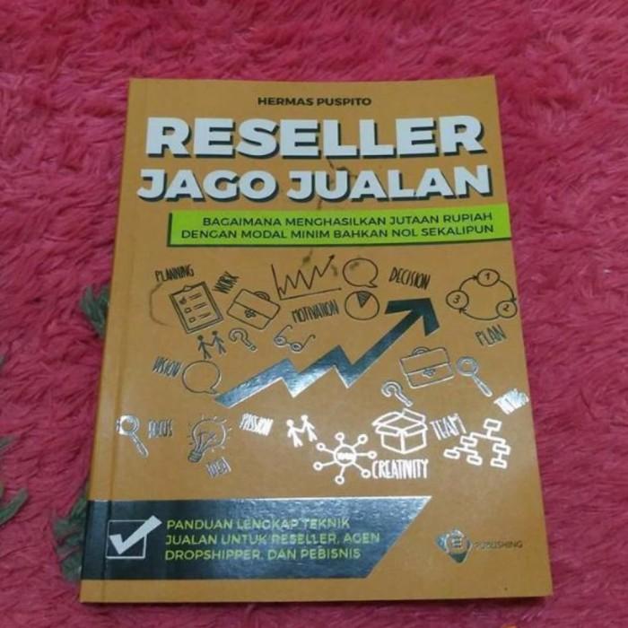 harga Buku reseller jago jualan hermas puspito ednovate indonesia Tokopedia.com