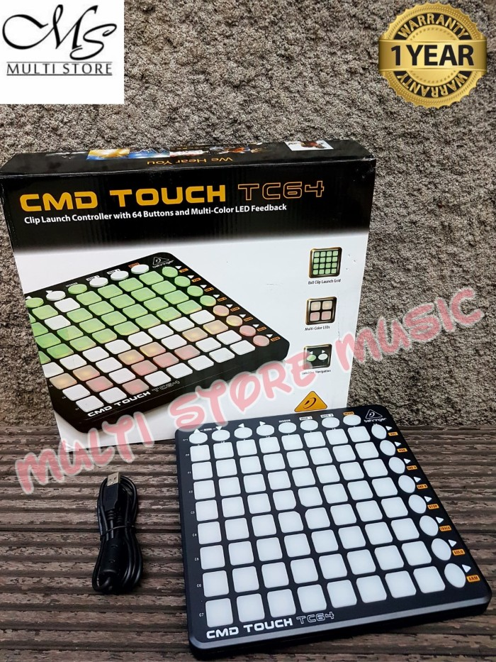 harga Behringer cmd touch tc64 [ tc 64 ] dj controller Tokopedia.com