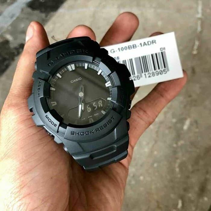 Jual Jam Tangan Pria Casio G-Shock G-100BB-1ADR - lind s supermall ... 2624784c19