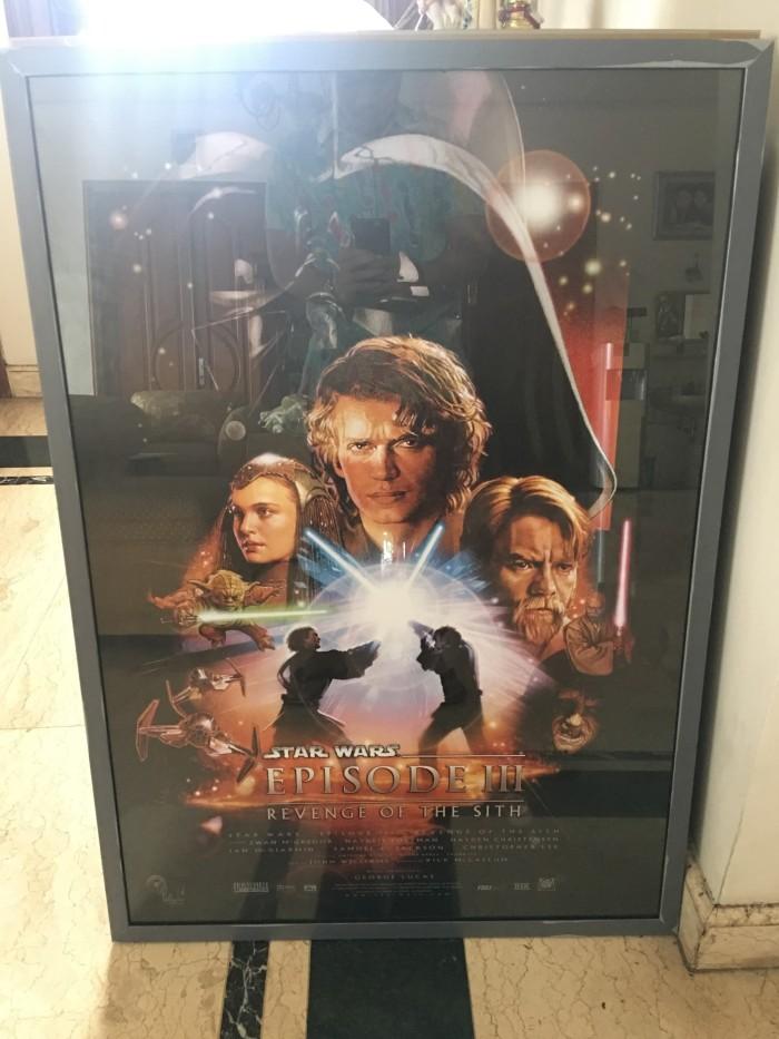 Jual Poster 74 X 104 Cm Star Wars Iii Revenge Of The Sith Frame Dengan Kaca Kota Tangerang Selatan Ayycaramba Tokopedia