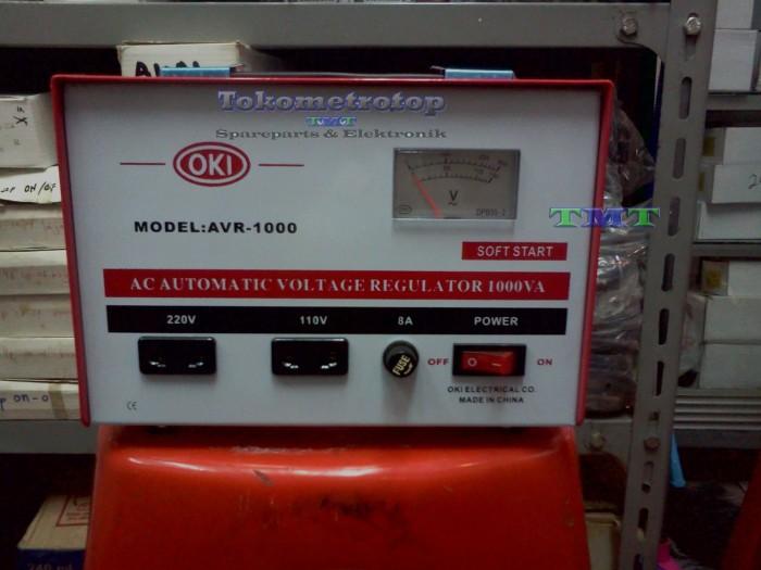 harga Stabilizer listrik merek oki 1000va Tokopedia.com