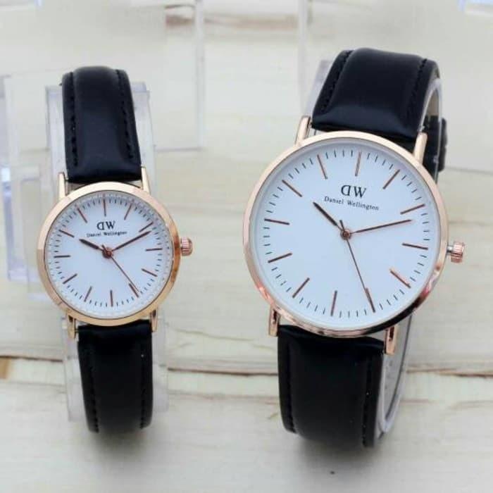harga Jam tangan dw kulit sr13 bak putih Tokopedia.com