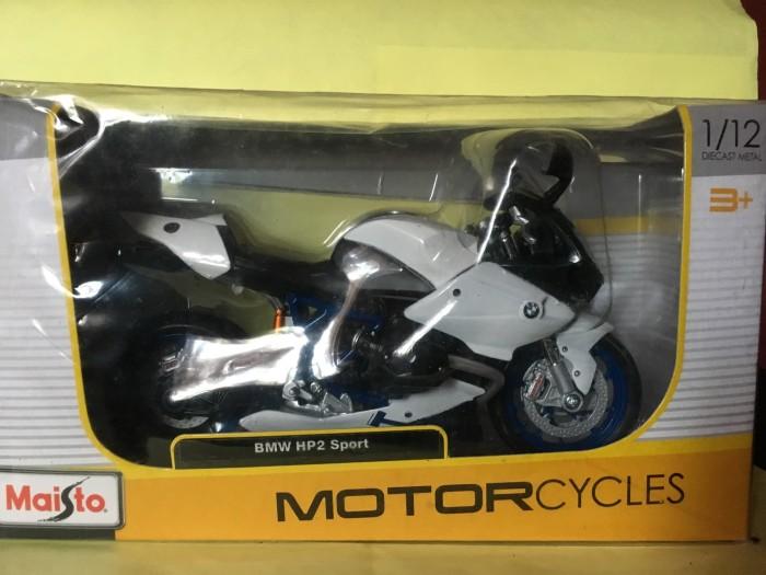 Foto Produk Maisto 1/12 Diecast Motorcycles BMW HP2 Sport dari Dompu Shop