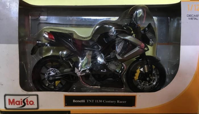 Foto Produk Maisto 1/12 Diecast Motorcycles Benelli TNT 1130 Century Racer dari Dompu Shop