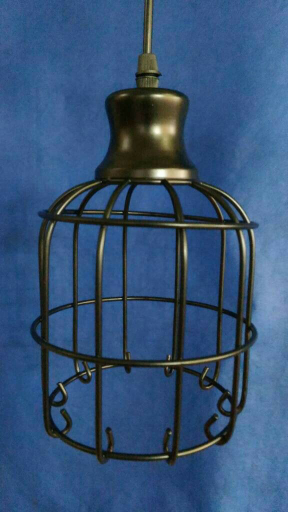 harga Lampu hias gantung rangka besi bentuk sangkar burung l796 Tokopedia.com